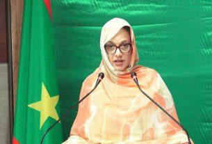 وزيرة البيئة والتنمية المستدامة في موريتانيا مريم بكاي