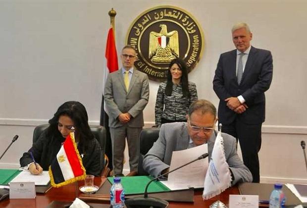 توقيع بروتوكول بين «قومى المرأة» و«التمويل الدولية»