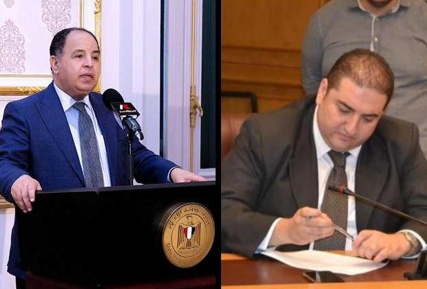 متي بشاي، رئيس لجنة التجارة الداخلية والتموين و وزير المالية محمد معيط