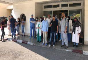 إضراب موظفو مستشفى صيدا الحكومي بلبنان