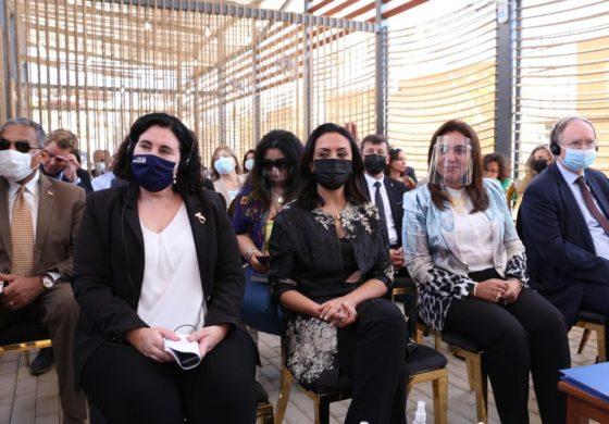 """""""بالصور.. السفارة الهولندية تعلن افتتاح """"المساحة الصديقة للنساء"""